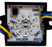پوینت لایت مربعی PNL3030